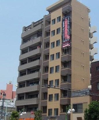 押上 徒歩12分 8階 1K 賃貸マンション