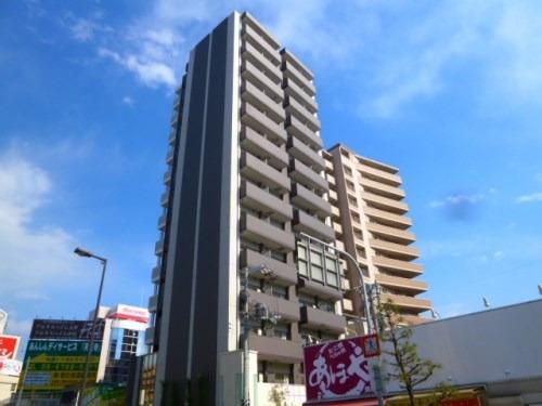 鶴橋 徒歩2分 6階 1K 賃貸マンション