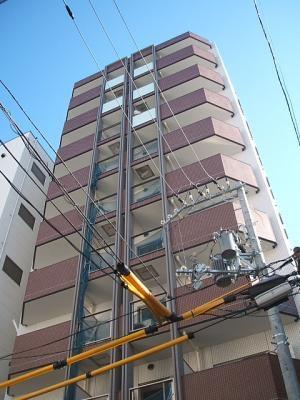 南森町 徒歩5分 9階 1K 賃貸マンション