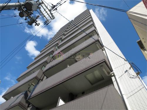 大阪上本町 徒歩10分 8階 1K 賃貸マンション