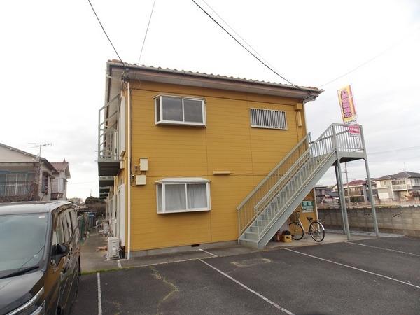 新田 徒歩18分 2階 2DK 賃貸アパート