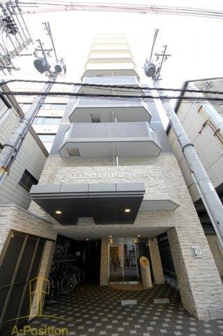 野田阪神 徒歩3分 5階 1K 賃貸マンション