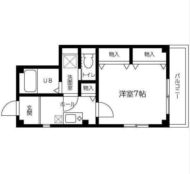 浦安 徒歩23分 3階 1K 賃貸マンション