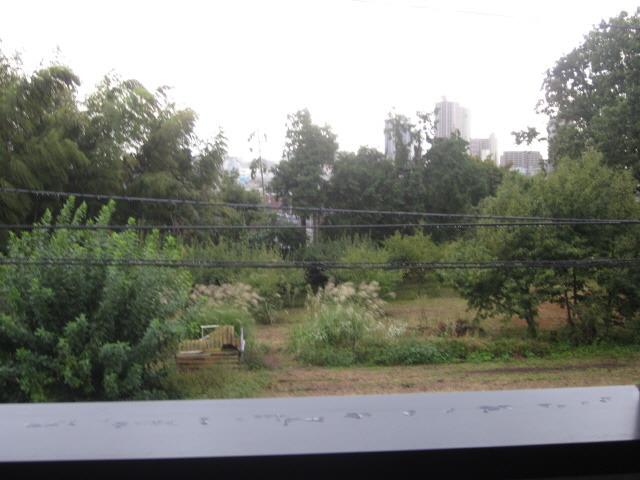 居室バルコニーからの風景