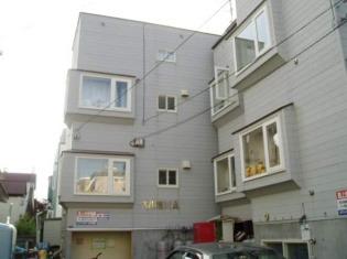 自衛隊前 徒歩10分 3階 1R 賃貸アパート