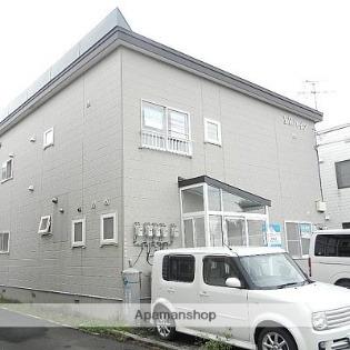 江別 徒歩20分 1階 2LDK 賃貸アパート