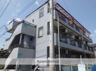 西川口 徒歩15分 3階 2K 賃貸マンション