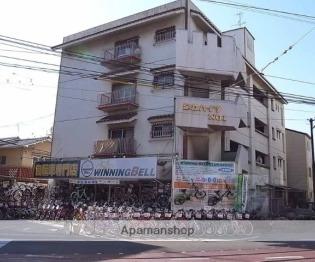 太秦天神川 徒歩3分 4階 2DK 賃貸マンション