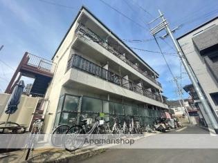 瓢箪山 徒歩10分 3階 1K 賃貸マンション