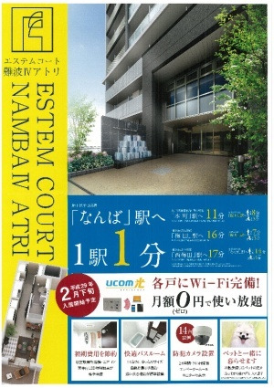 芦原橋 徒歩8分 7階 1K 賃貸マンション