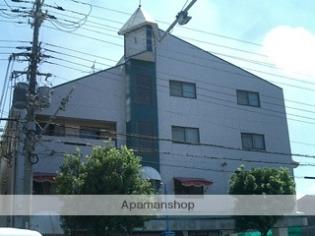 上野芝 徒歩10分 4階 2DK 賃貸マンション