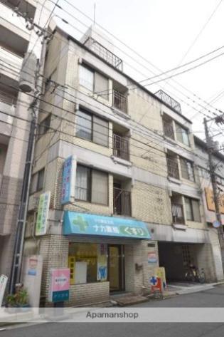 中電前 徒歩10分 5階 1DK 賃貸マンション