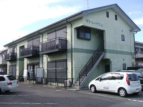 西岡崎 徒歩24分 2階 2DK 賃貸アパート