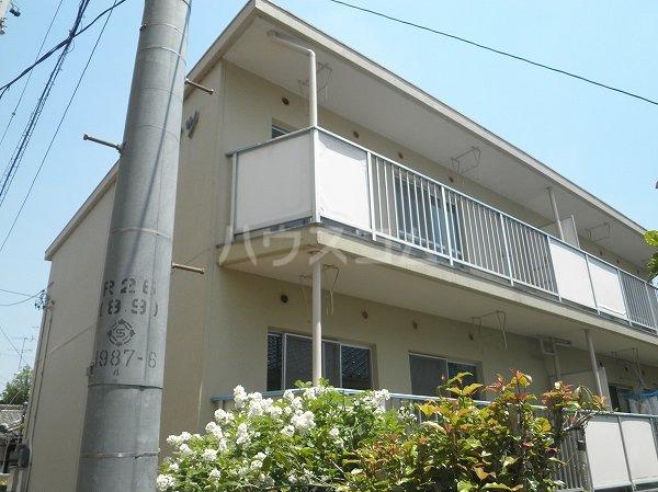 東岡崎 バス7分 停歩3分 2階 2DK 賃貸アパート