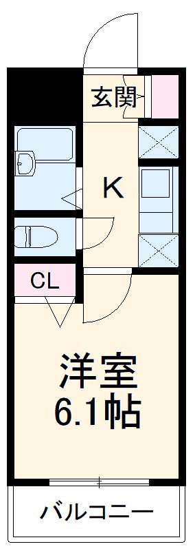 クレイシア旗の台 賃貸マンション