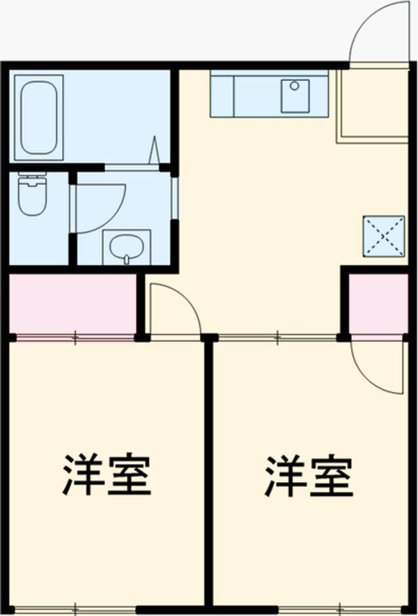 ガーデンTMS B 賃貸アパート