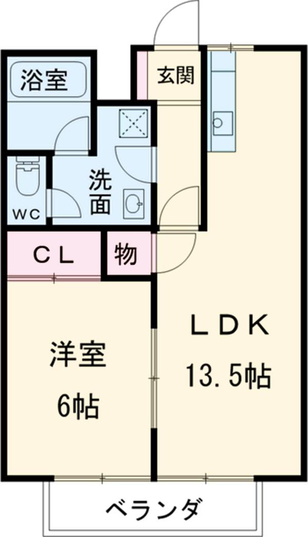 クオレ増渕Ⅰ 賃貸アパート