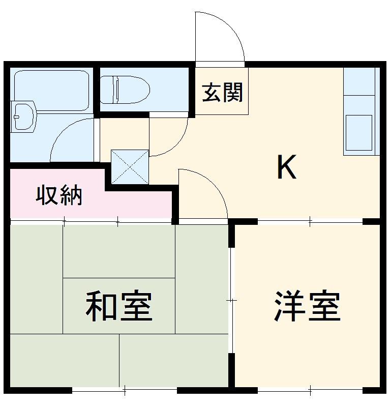 唐松ハイム 賃貸アパート