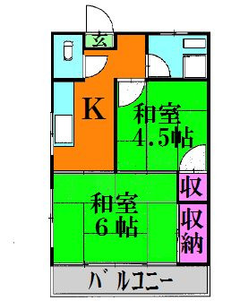中川ハイツ 賃貸アパート