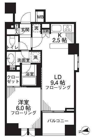 シティハウス東京新橋 賃貸マンション
