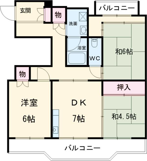 リバーヒル岸和田 賃貸マンション