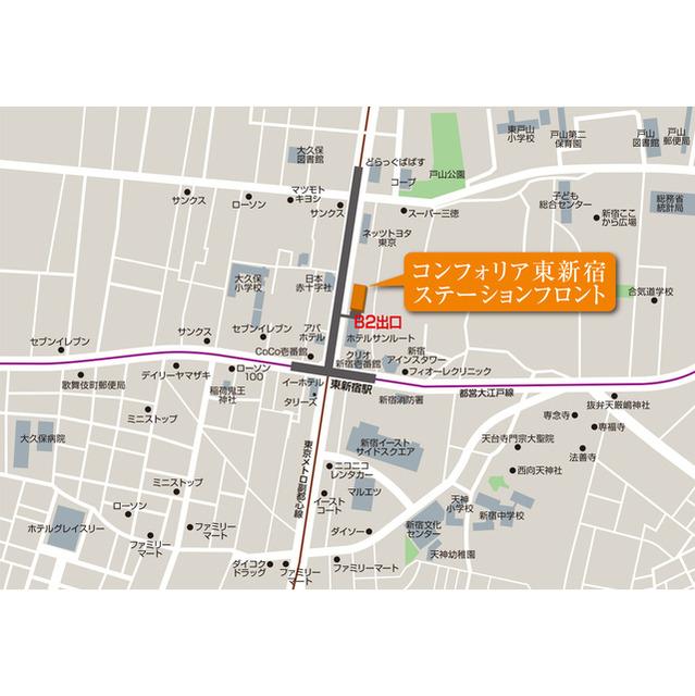 コンフォリア東新宿ステーションフロント 賃貸マンション