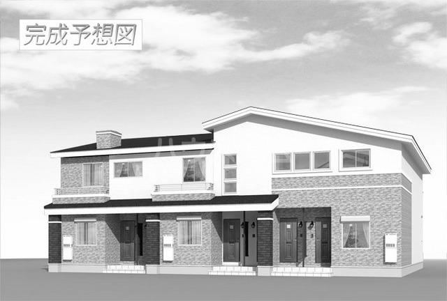 井原 バス19分 停歩39分 1階 2LDK 賃貸アパート