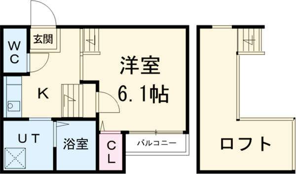 CLUB高畑レジデンス 賃貸アパート