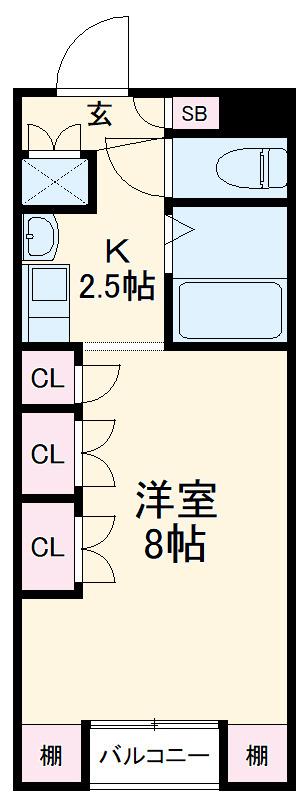 K2フラット 賃貸マンション
