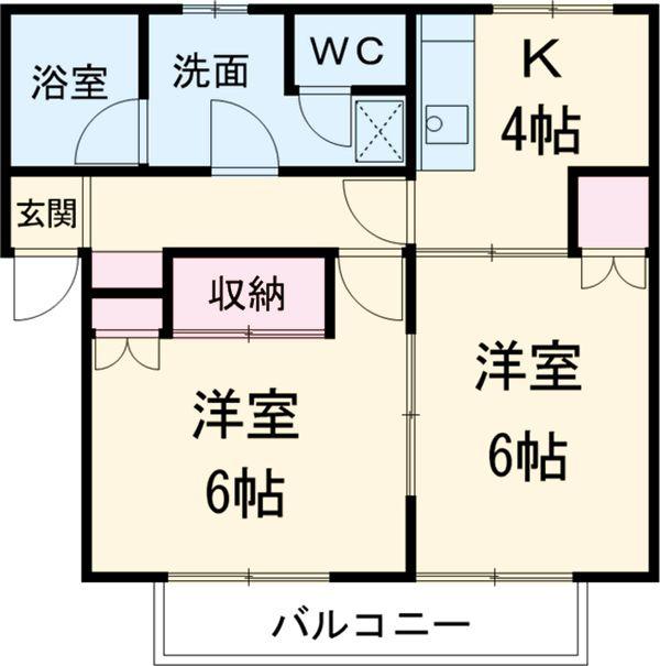 クオレ増渕Ⅱ 賃貸アパート