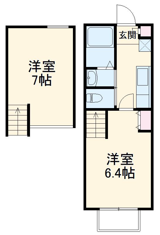 Duo Court 上青木Ⅱ 賃貸アパート
