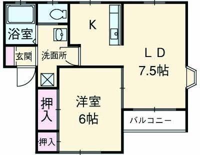 アルモニー平和台壱番館 賃貸アパート