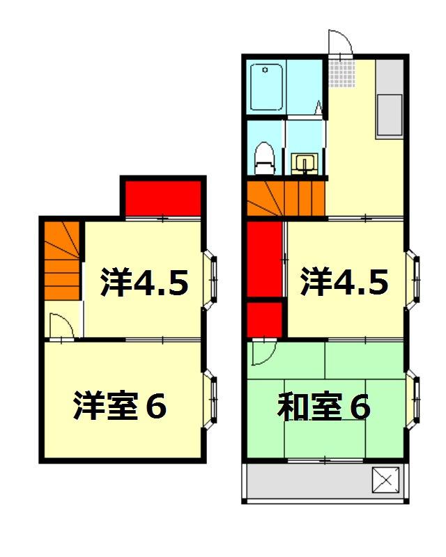 三晃ハイツ 賃貸アパート