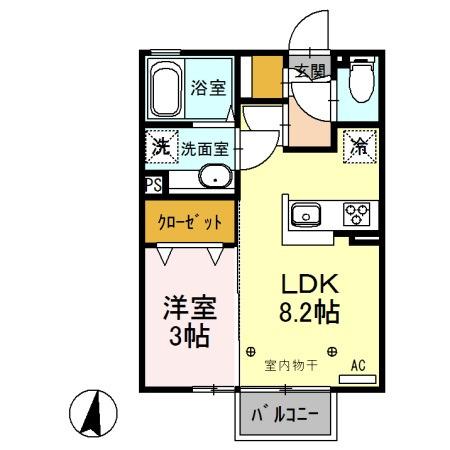 (仮)D-room稲野辺 賃貸アパート