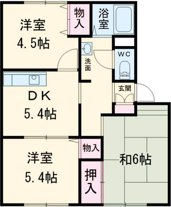 HITOMIハイツC 賃貸アパート