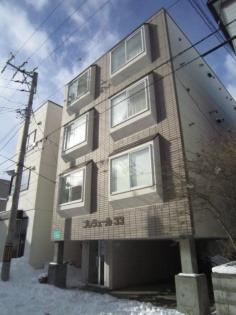 プレジュール33 3階 1R 賃貸マンション