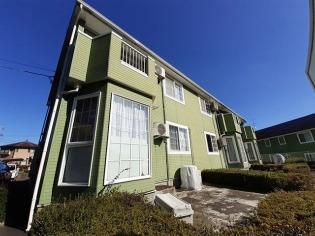 グリーンフィールドB 2階 2LDK 賃貸アパート