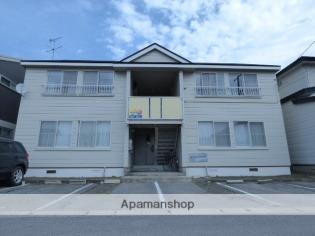 秋田 バス25分 停歩9分 2階 2DK 賃貸アパート