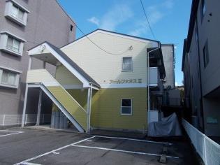 アールファオスⅡ 1階 2DK 賃貸アパート