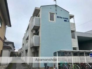 長浜 バス8分 停歩9分 3階 1K 賃貸マンション