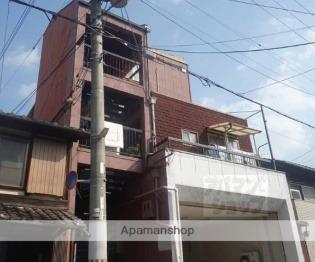京都 徒歩13分 4階 1DK 賃貸アパート