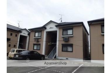 ヴィルヌーヴ 上中C棟 1階 2DK 賃貸アパート