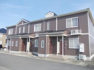 アルカディアB 1階 2LDK 賃貸アパート
