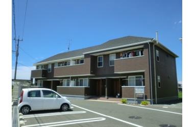 ラフレシール B 1階 2DK 賃貸アパート