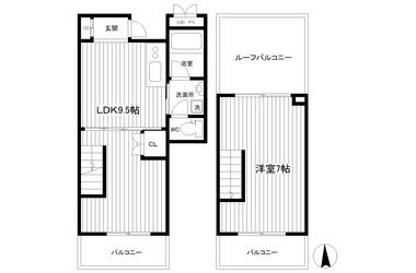 横浜 徒歩22分4-5階1LDK 賃貸マンション