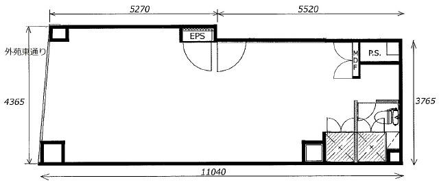 六本木 徒歩2分 1階 13.00坪