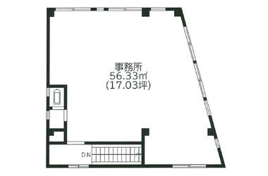 船橋 徒歩2分 3階 17.03坪