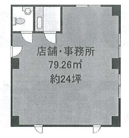 原木中山 徒歩3分 2階 23.97坪