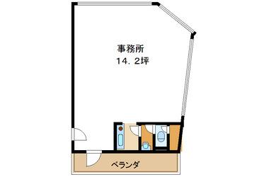 津田沼 徒歩3分 4階 14.21坪