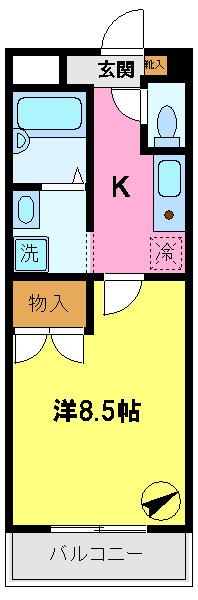 間取り/地積図エレベーター完備